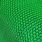 PVC Drainage Mesh Flooring Ground 8.5mm Synthetic Carpet Tiles