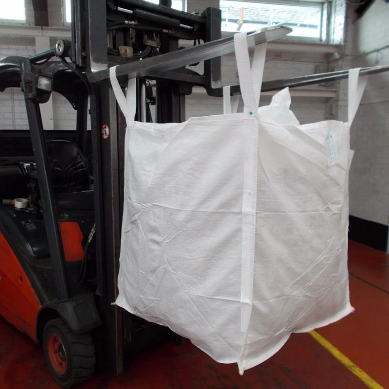 Fibc Cement PP Jumbo Bags 500kg With Discharge Spout